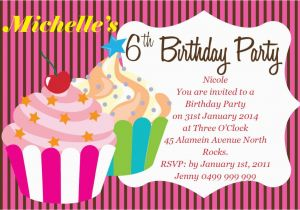 Customized Birthday Invitation Cards Online Free Create A