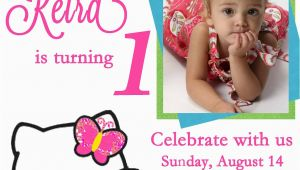 Customized Birthday Invitations Online Free Free Personalized Hello Kitty Birthday Invitations Free