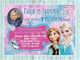 Customized Birthday Invites Items Similar to Frozen Birthday Invitation Custom
