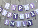 Customized Happy Birthday Banner Happy Birthday Banner Birthday Banner Personalized Name