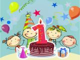 Cute Birthday Cards for Kids 1st Birthday Wishes for Cute Babies