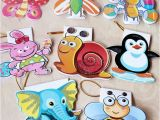 Cute Birthday Cards for Kids Cartoon Mini Greeting Card with Gold Hang Strap Children 39 S