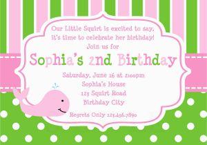 Cute Birthday Invite Sayings 21 Kids Invitation Wording That We Can Make