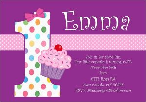 Cute Birthday Invite Sayings First Invitation Wording And 1st
