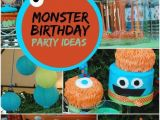 Cute Monster Birthday Party Decorations 26 Cute Monster Party Ideas Your Guests Will Adore