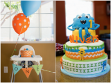 Cute Monster Birthday Party Decorations 34 Monster Birthday Party Ideas Spaceships and Laser Beams