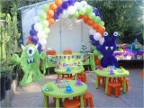 Cute Monster Birthday Party Decorations Cute Little Monster 39 S Birthday Party Ideas Photo 4 Of 38