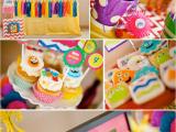 Cute Monster Birthday Party Decorations Kara 39 S Party Ideas Girly Monster Bash Girl Birthday Party