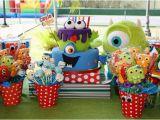Cute Monster Birthday Party Decorations Kara 39 S Party Ideas Monster Birthday Party Supplies Ideas