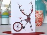 Cycling themed Birthday Cards Set Of Bicycle Bike themed Greetings Card Set by Wyatt9