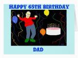 Dad 75th Birthday Card Dad 65th Birthday Card Zazzle