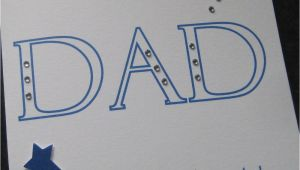 Dad 75th Birthday Card Personalised Handmade Dad Birthday Card 40th 50th 60th