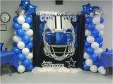 Dallas Cowboys Birthday Decorations Dallas Cowboy Bday Party My Decorations Pinterest