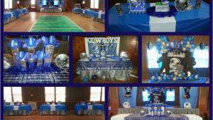 Dallas Cowboys Birthday Decorations Dallas Cowboys Football Birthday Party Ideas Photo 1 Of