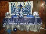 Dallas Cowboys Birthday Decorations Dallas Cowboys Football Birthday Party Ideas Photo 2 Of