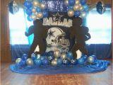 Dallas Cowboys Birthday Decorations Dallas Cowboys Football Birthday Party Ideas Photo 8 Of