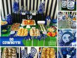 Dallas Cowboys Birthday Decorations Dallas Cowboys Football Party Made by A Princess