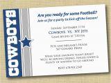 Dallas Cowboys Birthday Party Invitations Dallas Cowboy Birthday Party Invitations Home Party Ideas