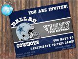 Dallas Cowboys Birthday Party Invitations Dallas Cowboys Birthday Party Invitations Oxsvitation Com