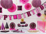 Damask Birthday Party Decorations Damask Birthday Party Supplies Pink Black Party