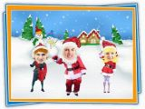 Dancing Birthday Cards with Faces Create Dancing Santa Christmas Greeting Cards with Cardfunk