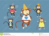 Dancing Birthday Cards with Faces Cute Monkey Face Car Interior Design