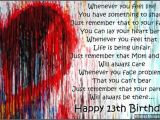 Daughter 13th Birthday Card 13th Birthday Wishes for son or Daughter Wishesmessages Com