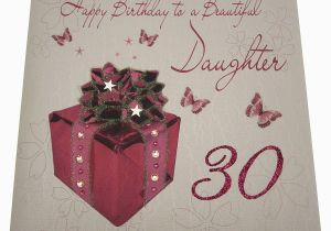 Daughter 30 Birthday Card Gifts For Daughters 30th Gift Ftempo