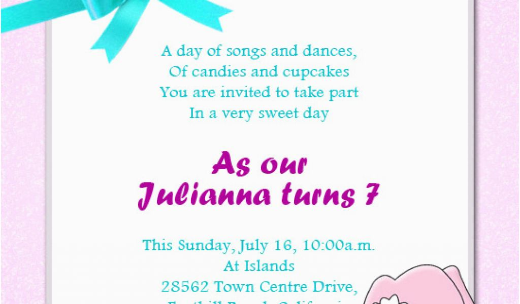 Download By SizeHandphone Tablet Desktop Original Size Back To Daughter Birthday Invitation Sms