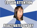 Day before Birthday Meme Deactivates Facebook to Gain attention Reactivates On Day