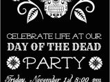 Day Of the Dead Birthday Invitations Day Of the Dead Party Invitations Cimvitation
