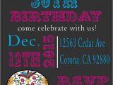 Day Of the Dead Birthday Invitations De Los Muertos Day Of the Dead Birthday Invitation Click