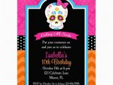 Day Of the Dead Birthday Invitations Items Similar to Day Of the Dead Invitation Skull Dia De