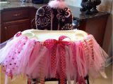 Decorate High Chair 1st Birthday Birthday Girl Highchair Decoration Birthday Party Ideas