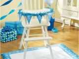 Decorate High Chair 1st Birthday One Special Boy High Chair Decorating Kit Bubbles and