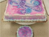 Decorated Birthday Cakes at Walmart Fun Winter themed Sheet Cake In buttercream with Gumpaste