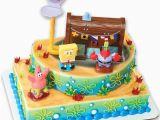 Decorated Birthday Cakes at Walmart Spongebob Cake Decorating Kit topper Ebay