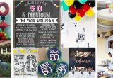 Decorating for A 50th Birthday Party 50th Birthday Party Ideas