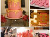 Decorating Ideas for 30th Birthday Party Kara 39 S Party Ideas Pink Gold and Old 30th Birthday Party
