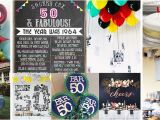 Decorating Ideas for 50th Birthday Party 50th Birthday Party Ideas