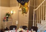 Decorating Ideas for 60th Birthday Party 60th Birthday Party Centerpiece In Black and Gold