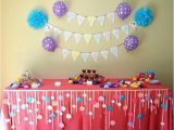 Decorating Ideas for Baby Girl Birthday Party Birthday Decoration Ideas Photo 4 Of Best Birthday Party