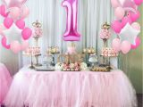 Decorating Ideas for Baby Girl Birthday Party Fengrise 1st Birthday Party Decoration Diy 40inch Number 1