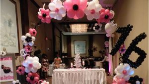 Decorating Ideas for Sweet 16 Birthday Party Decor Knoxville Parties Balloons Above the