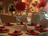 Decoration for 15 Birthday Party Hollywood Quinceanera Party Ideas Table Settings