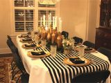 Decoration for 30th Birthday Party Gold Black and White My 30th Birthday Dinner Party