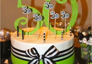 Decoration For 50 Years Old Birthday 50th Party Ideas
