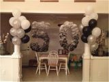 Decoration for 50 Years Old Birthday Black White and Grey 50th Birthday Party Ideas for Men