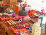 Decoration Ideas for 60 Birthday Party Kara 39 S Party Ideas Hippie Owl 60 39 S Girl themed Birthday