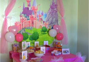 Decoration Ideas for Princess Birthday Party Disney Princess Birthday Party Ideas Food Decorations